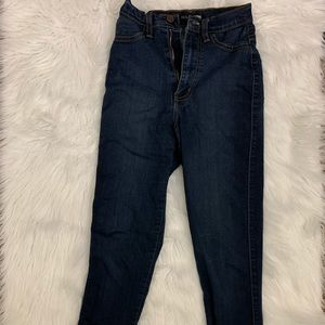 Older High Waisted Fashion Jeans